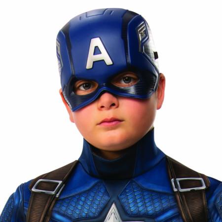 Captain America Youth Costume Half Mask