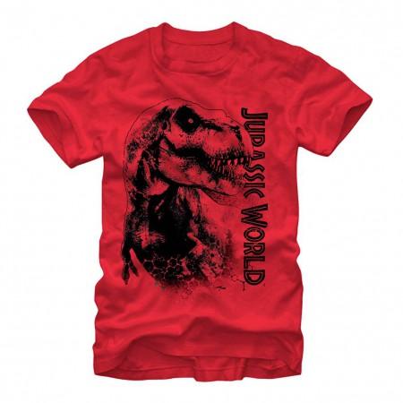 Jurassic World Da Man Red T-Shirt
