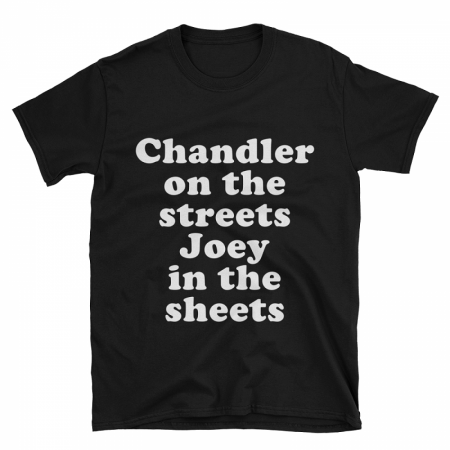 Chandler On The Streets Joey In The Sheets Tshirt