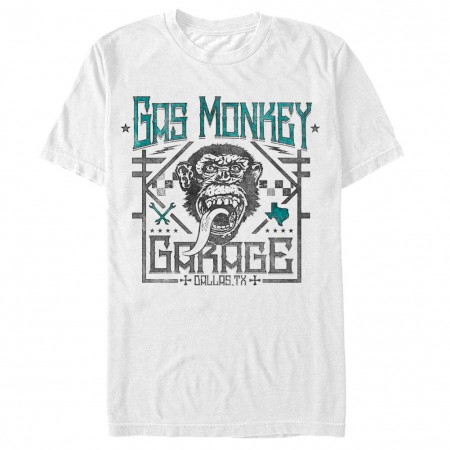 Gas Monkey Garage Elite White T-Shirt