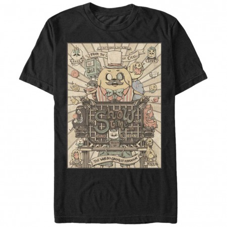 Adventure Time Show Time Black T-Shirt
