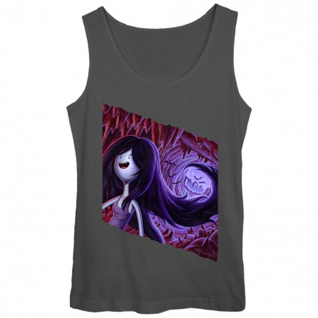 Adventure Time Marceline Gray Juniors Tank Top