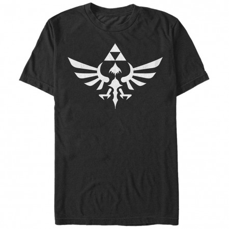 Nintendo Triumphant Triforce Black T-Shirt