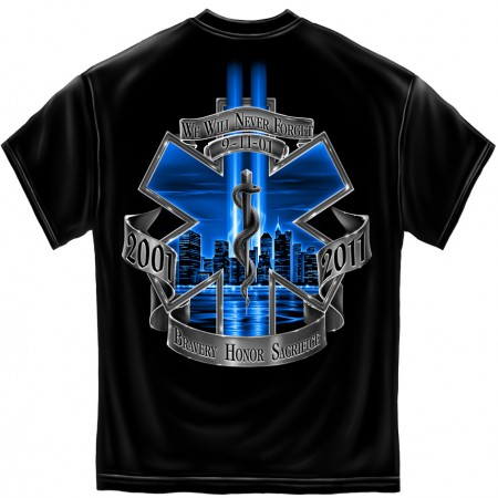 EMS Never Forget 9/11 Patriotic TShirt