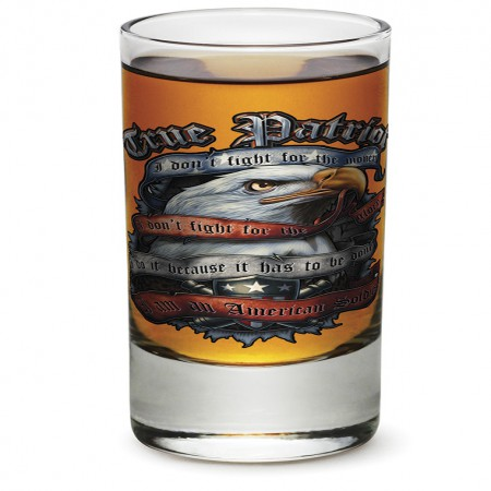 True Patriot Bald Eagle Shot Glass