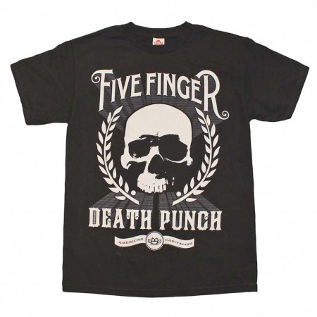 Five Finger Death Punch Skull Zoom T-Shirt