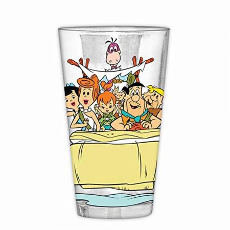 Flintstones 16 Ounce Pint Glass