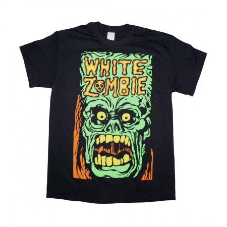 White Zombie Monster Yell T-Shirt