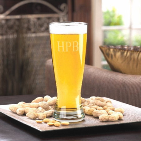 Personalized 20 Ounce Custom Pilsner Glass