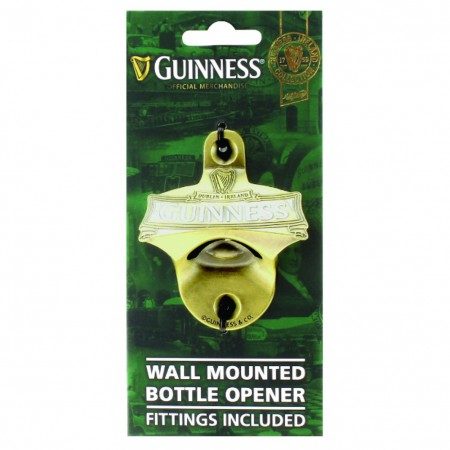 Guinness Ireland Wall Mounted Bottle Opener