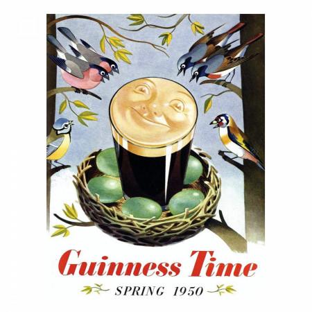 Guinness Vintage Time Birds Nest 500 Piece Puzzle