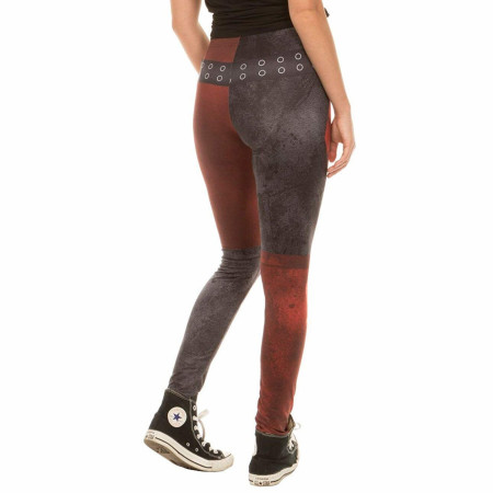 DC Comics Harley Quinn Arkham City Leggings