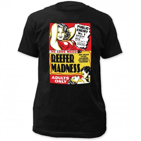 Impact Originals Reefer Madness Fitted T-Shirt