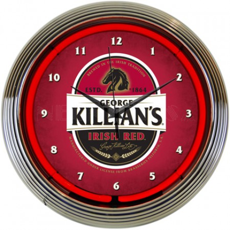 Killian's Neon Clock