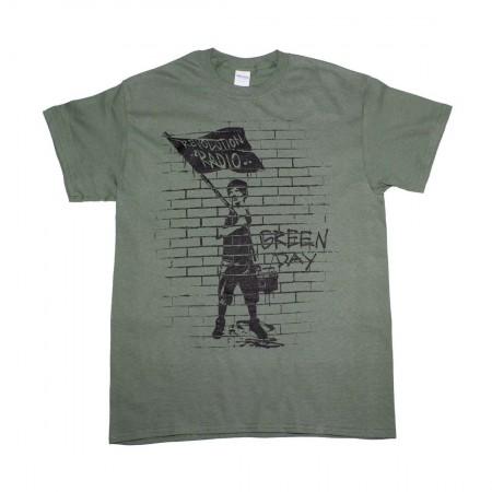 Green Day Flag Boy T-Shirt