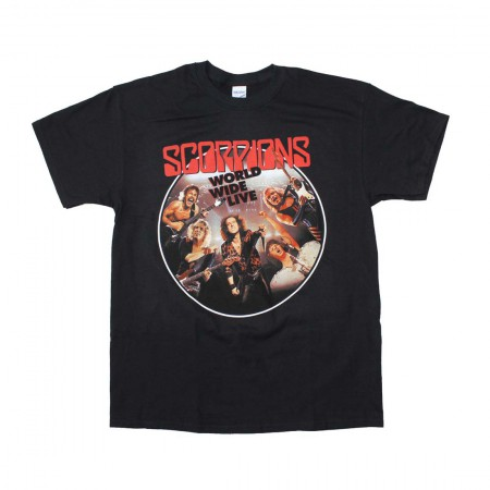 Scorpions Worldwide Live T-Shirt