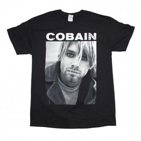 Kurt Cobain Photo T-Shirt