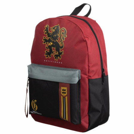 Harry Potter Gryffindor Mixblock Backpack with Webbing Puller