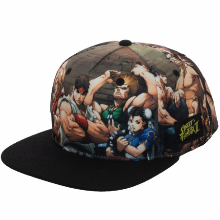 Street Fighter Sublimated Snapback