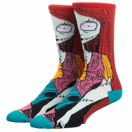 The Nightmare Before Christmas Sally 360 Character Crew Socks