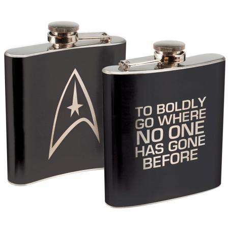 Star Trek Stainless Steel Flask