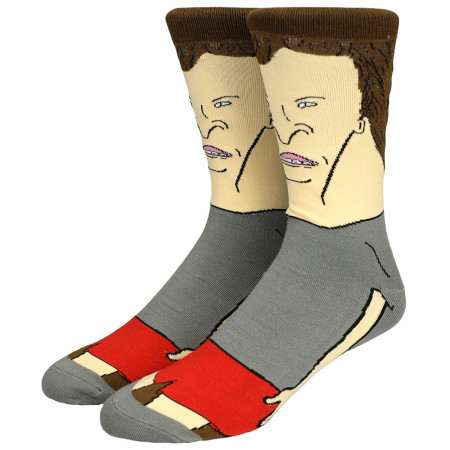 Butt-Head 360 Character Crew Socks