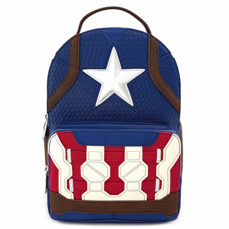 Captain America Worthy Endgame Hero Mini Backpack