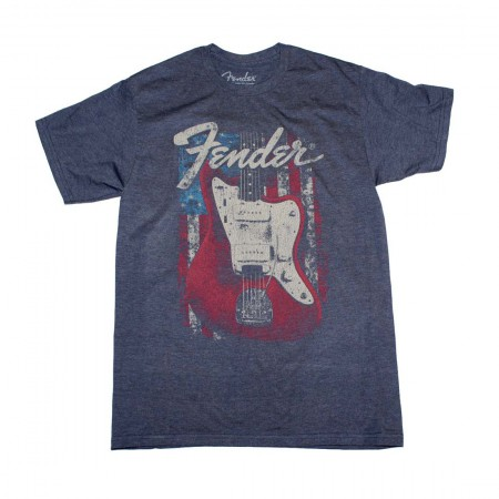 Fender Flag Guitar T-Shirt