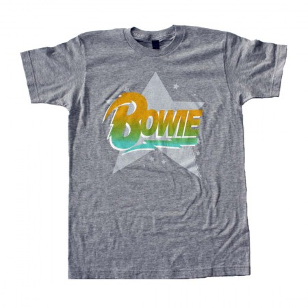 David Bowie Logo Star Soft T-Shirt