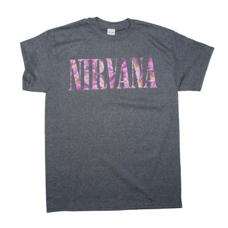 Nirvana Floral Logo T-Shirt