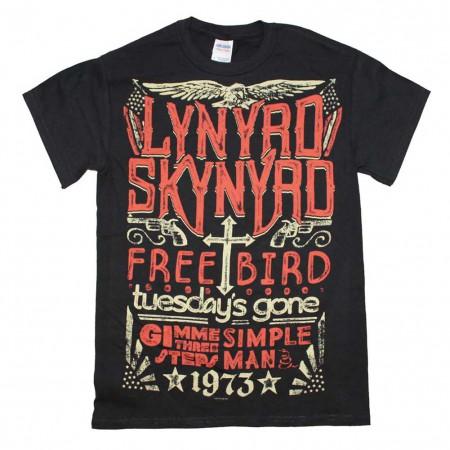 Lynyrd Skynyrd 1973 Hits T-Shirt
