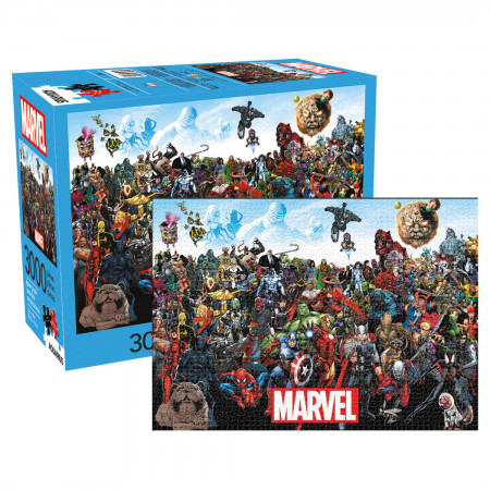 Marvel Cast Team Up 3,000 Piece Puzzle