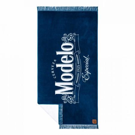 Modelo Especial Blue Fringe Towel