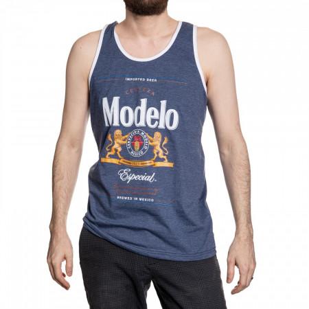 Modelo Especial Label White Trim Men's Tank Top