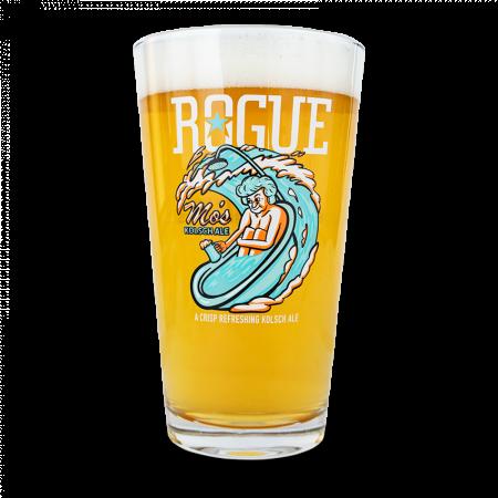 Rogue Mo's Kolsch Pint Glass