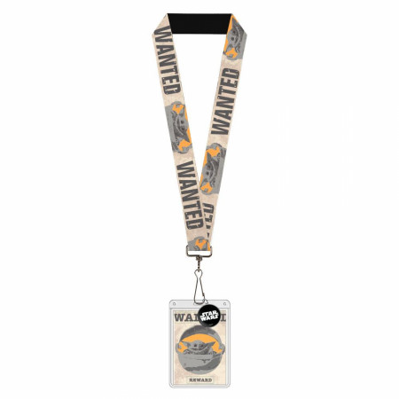 "Star Wars The Mandalorian ""The Child"" Wanted Lanyard"