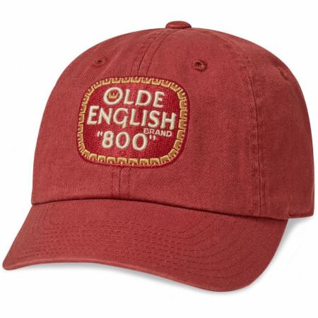 Olde English '800' Brand Logo Adjustable Ballpark Hat
