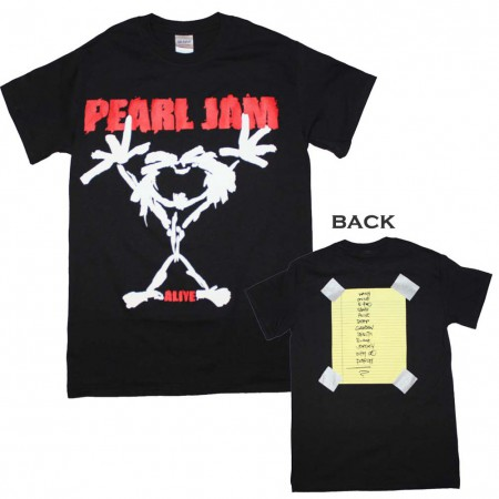Pearl Jam Alive Stickman T-Shirt