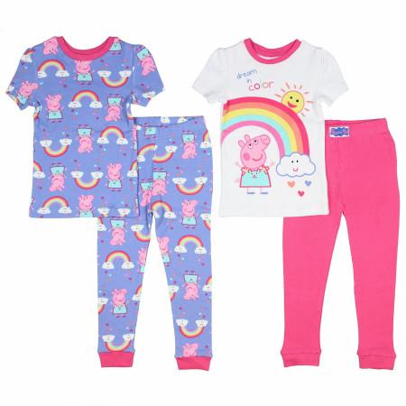 Peppa Pig Toddler Girls Sleep Set