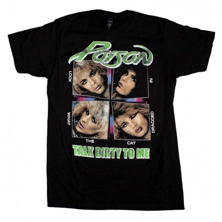 Poison Talk Dirty to Me Soft T-Shirt