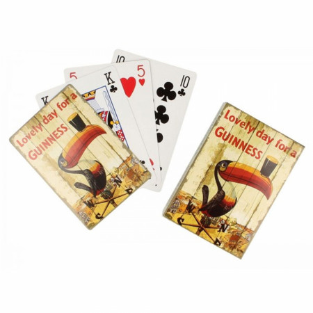 Guinness Beer Vintage Toucan Playing Cards