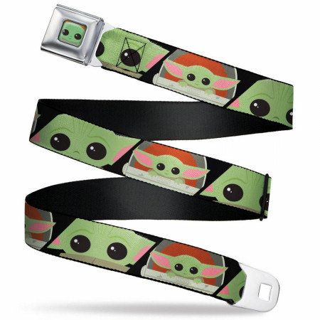 The Mandalorian The Child Chibi Seatbelt Belt