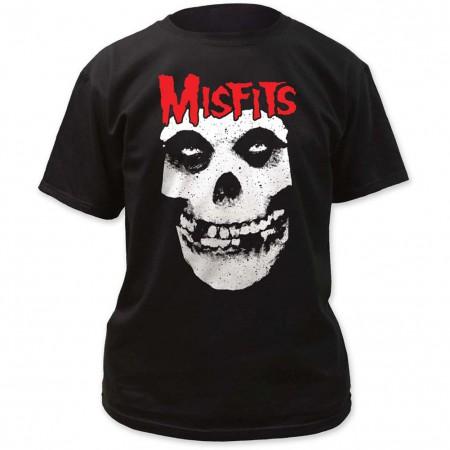 Red Skull Logo Misfits T-Shirt