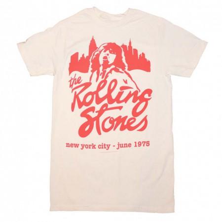 Rolling Stones Mick June 1975 T-Shirt