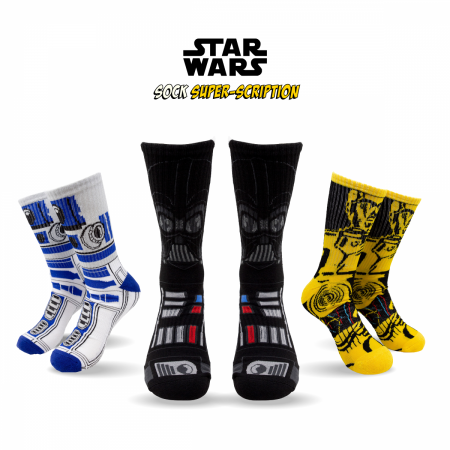 Star Wars Sock Super-Scription