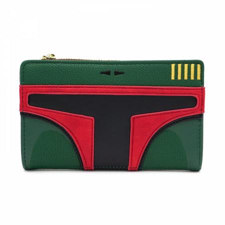 Boba Fett Faux Leather Wallet
