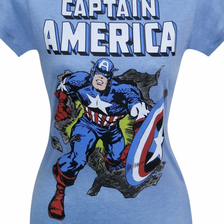 Captain America Breakout Women's T-Shirt