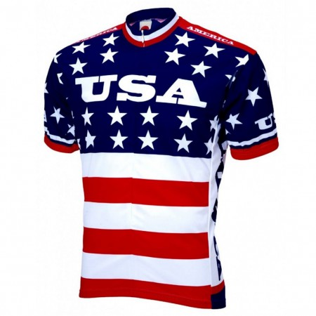 American Flag USA Cycling Jersey