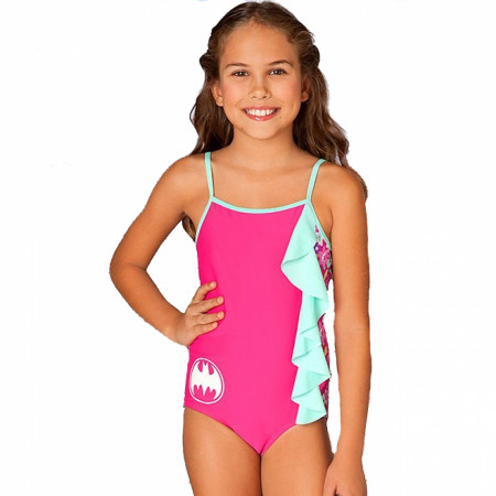 Bat Bloom Cascade Toddler One Piece Swimsuit